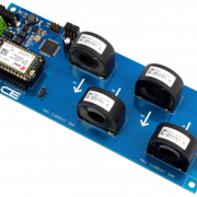 I2C AC Current Monitoring Controller 4-Channel 30-Amp