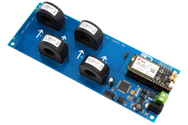 I2C AC Current Monitoring Controller 4-Channel 20-Amp