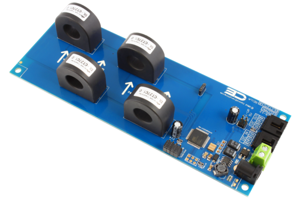 Current Monitoring Controller 4-Channel 50-Amp 97% Accuracy