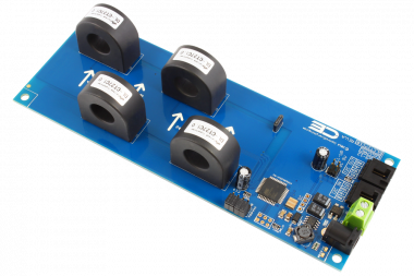 I2C Current Monitoring Controller 4-Channel 70-Amp 97% Accuracy