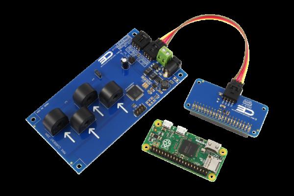 Raspberry Pi Zero Current Measurement 4-Channel 5-Amp I2C
