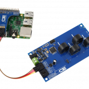 Raspberry Pi 3 Current Measurement 4-Channel 5-Amp I2C