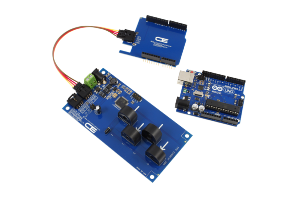 Arduino Uno Current Measurement 4-Channel 5-Amp I2C