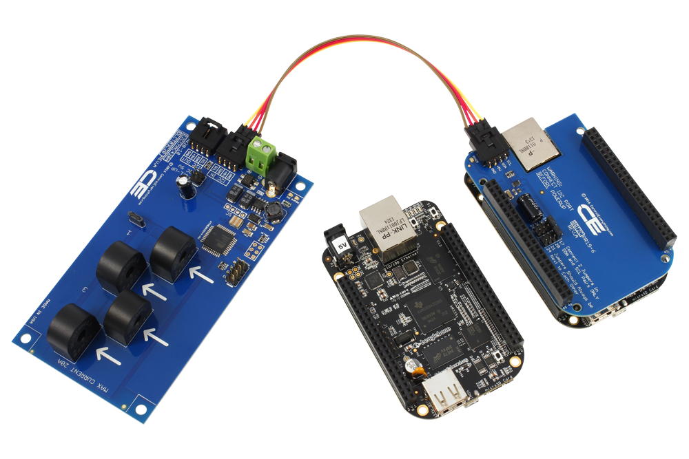 4-Channel On-Board 95% Accuracy 20-Amp AC Current Monitor with I2C  Interface - store ncd io