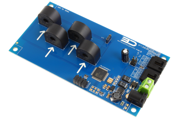 Current Monitoring 4-Channel 5-Amp 95% Accuracy with I2C Interface