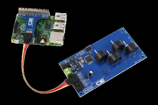 I2C Energy Monitoring for Raspberry Pi 3 4-Channel 20-Amp Range