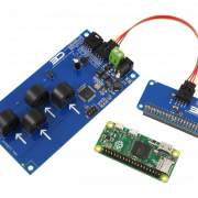 I2C Energy Monitoring for Raspberry Pi Zero 4-Channel 20-Amp Range