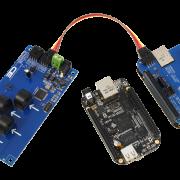 I2C Energy Monitoring for BeagleBone Black 4-Channel 20-Amp Range