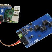 I2C Energy Monitoring for Raspberry Pi 3 4-Channel 10-Amp Range
