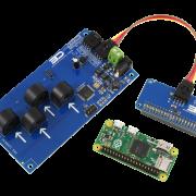 I2C Energy Monitoring for Raspberry Pi Zero 4-Channel 10-Amp Range