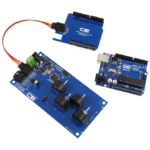 I2C Energy Monitoring for Arduino Uno 4-Channel 10-Amp Range