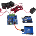 Energy Monitoring Controller 4-Channel 50-Amp for Arduino Uno