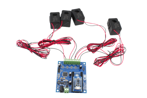 Energy Monitoring Controller 4-Channel 50-Amp for Trinket