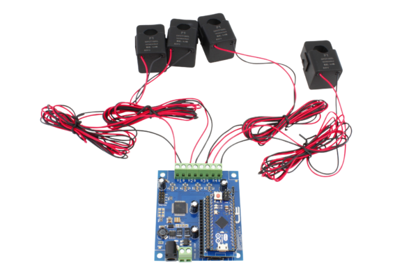 Energy Monitoring Controller 4-Channel 50-Amp for Arduino Micro