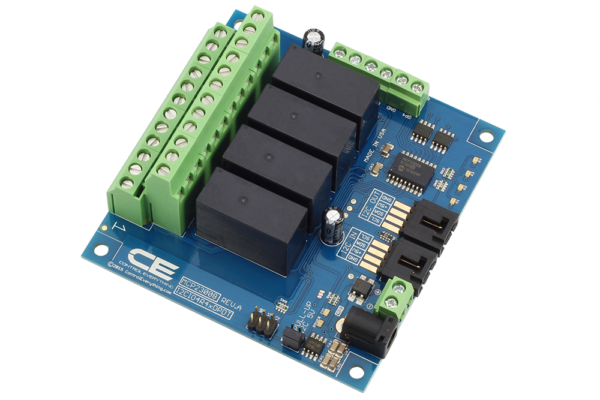 4 Channel DPDT Raspberry Pi Relay Shield