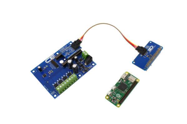 4-Channel 8W Open Collector 8-Bit PCA9633 PWM FET Driver I2C Shield for Particle Electron Cellular and USB