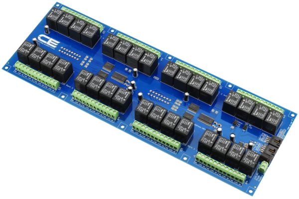 Switch Array Makes Automation Easy using I2C Interface