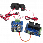 High Accuracy Energy Monitoring and Relay Control using Particle Photon