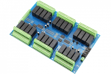 24 Channel Raspberry Pi Relay Controller