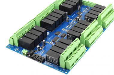 Raspberry Pi 24 Channel DPDT 5-Amp Relay Controller