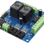 2-Channel Relay Switch with GPIO and I2C Communications