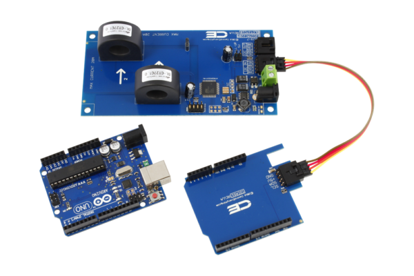 AC Energy Monitoring for Arduino Uno 2-Channel 70-Amp