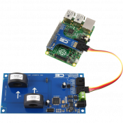 AC Energy Monitoring for Raspberry Pi 3 2-Channel 70-Amp