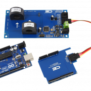 AC Current Measurement for Arduino Uno 2-Channel I2C 30-Amp