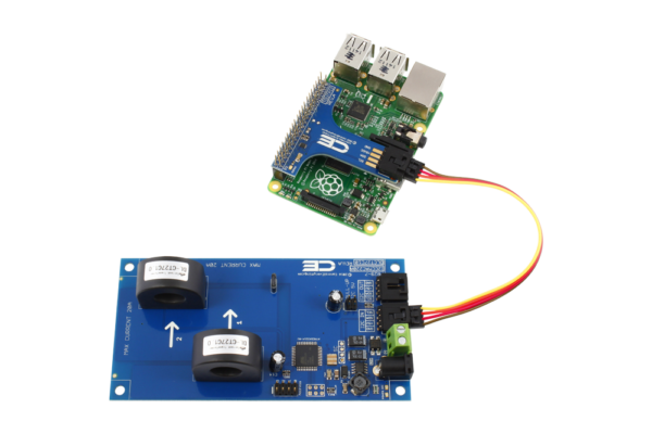 AC Current Measurement for Raspberry Pi 3 2-Channel I2C 30-Amp