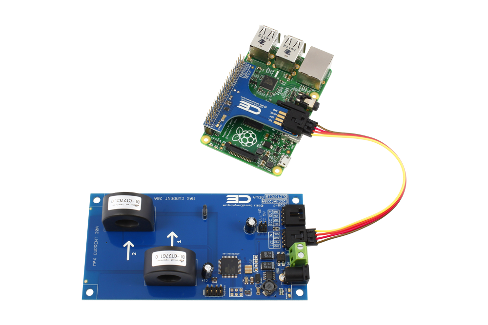 2-Channel On-Board 97% Accuracy AC Current Monitor with I2C Interface -  store ncd io