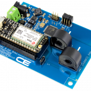 DLCT03C20 Current Monitoring Controller 2-Channel 10-Amp with Cellular Connectivity using Particle Electron