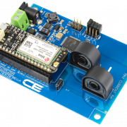DLCT03C20 Current Monitoring Controller 2-Channel 5-Amp with Cellular Connectivity using Particle Electron