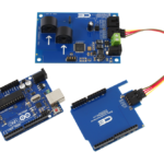 I2C Current Measurement for Arduino Uno 2-Channel 15-Amp Range
