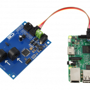 I2C Current Measurement for Raspberry Pi 3 2-Channel 15-Amp Range