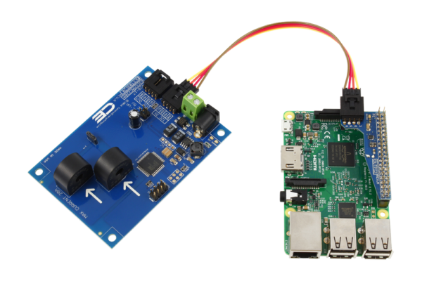 Current Measurement for Raspberry Pi 3 2-Channel 10-Amp Range