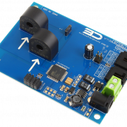 Current Monitoring 2-Channel 10-Amp 95% Accuracy with I2C Interface