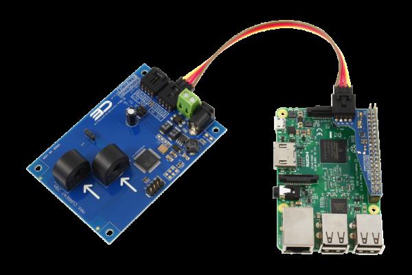 I2C Energy Monitoring for Raspberry Pi 3 2-Channel 5-Amp Range