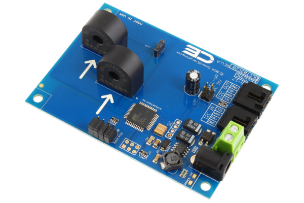 Current Monitoring 2-Channel 5-Amp 95% Accuracy with I2C Interface