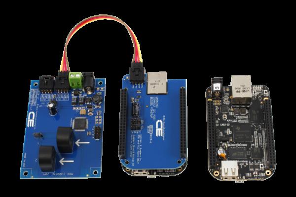 I2C Current Measurement for BeagleBone Black 2-Channel 20-Amp Range