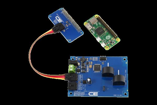 I2C Current Measurement for Raspberry Pi Zero 2-Channel 20-Amp Range