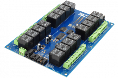 Automate with a Relay Shield using I2C Communications
