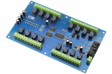 I2C Relay Controller 16-Channel Signal Relay 1-Amp SPDT