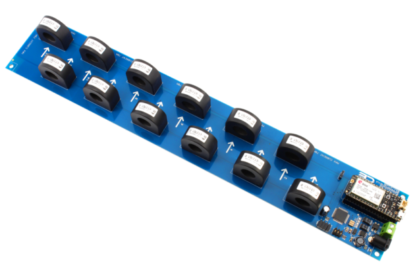 I2C AC Current Monitoring Controller 12-Channel 70-Amp