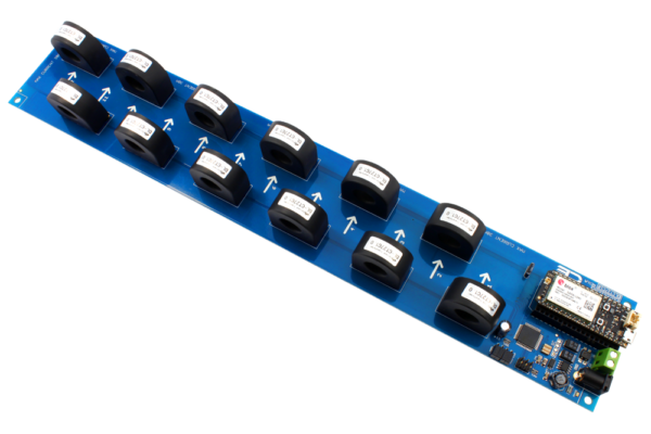 I2C AC Current Monitoring Controller 12-Channel 30-Amp