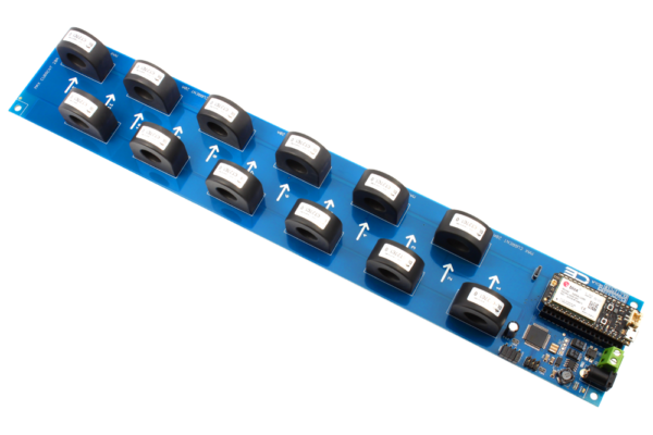 I2C Current Monitoring Controller 12-Channel 20-Amp 97% Accuracy