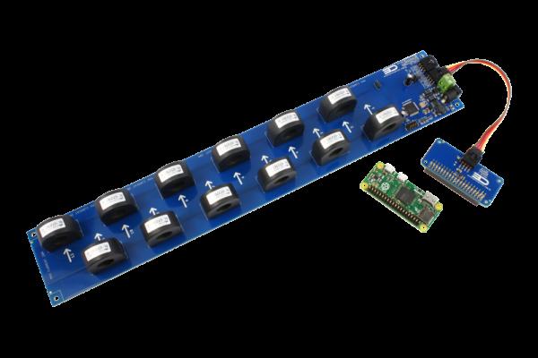 AC Energy Metering with Raspberry Pi Zero 12-Channel 50-Amp
