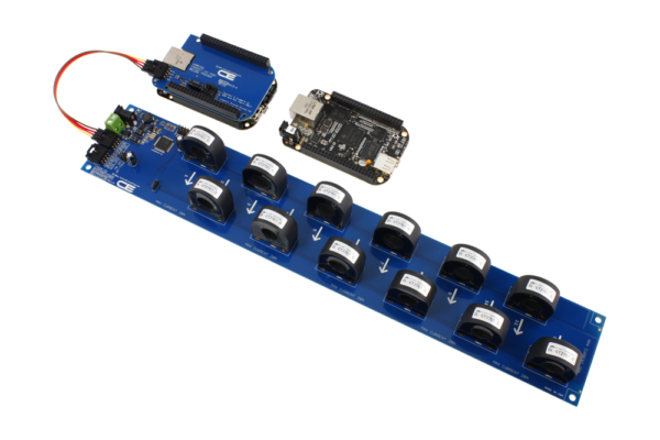 AC Energy Metering with BeagleBone Black 12-Channel 20-Amp