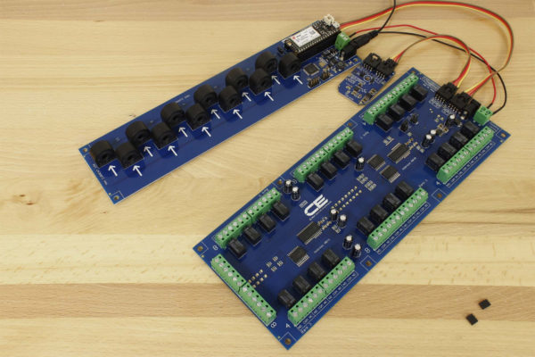 DLCT03C20 I2C Current Monitoring Controller 12-Channel 15-Amp 5% Accuracy with Cellular Connectivity using Particle Electron