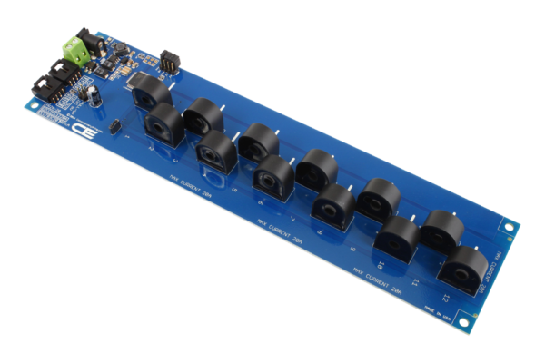 I2C Energy Monitoring 12-Channel 20-Amp 95% Accuracy