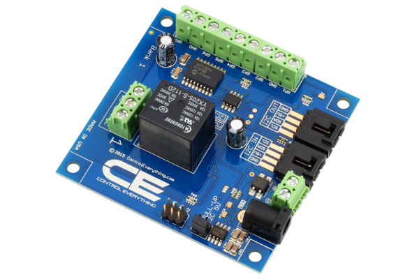 High Current 1 Channel Relay Board